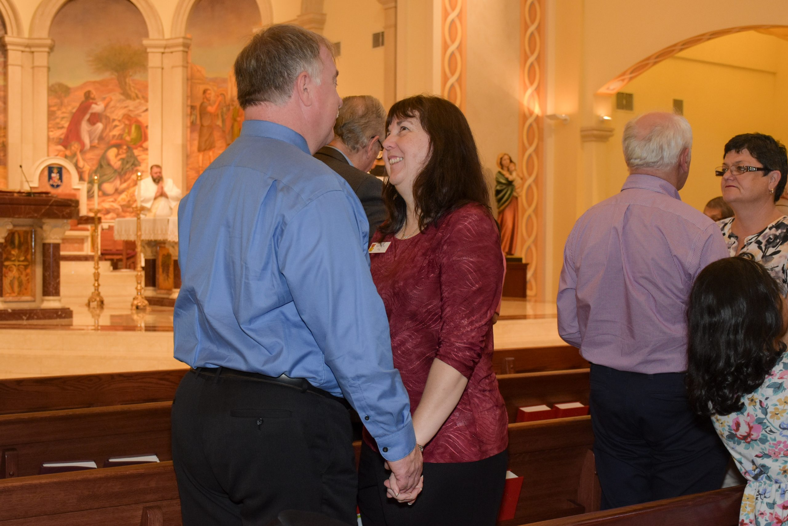 Couples renew marital covenant