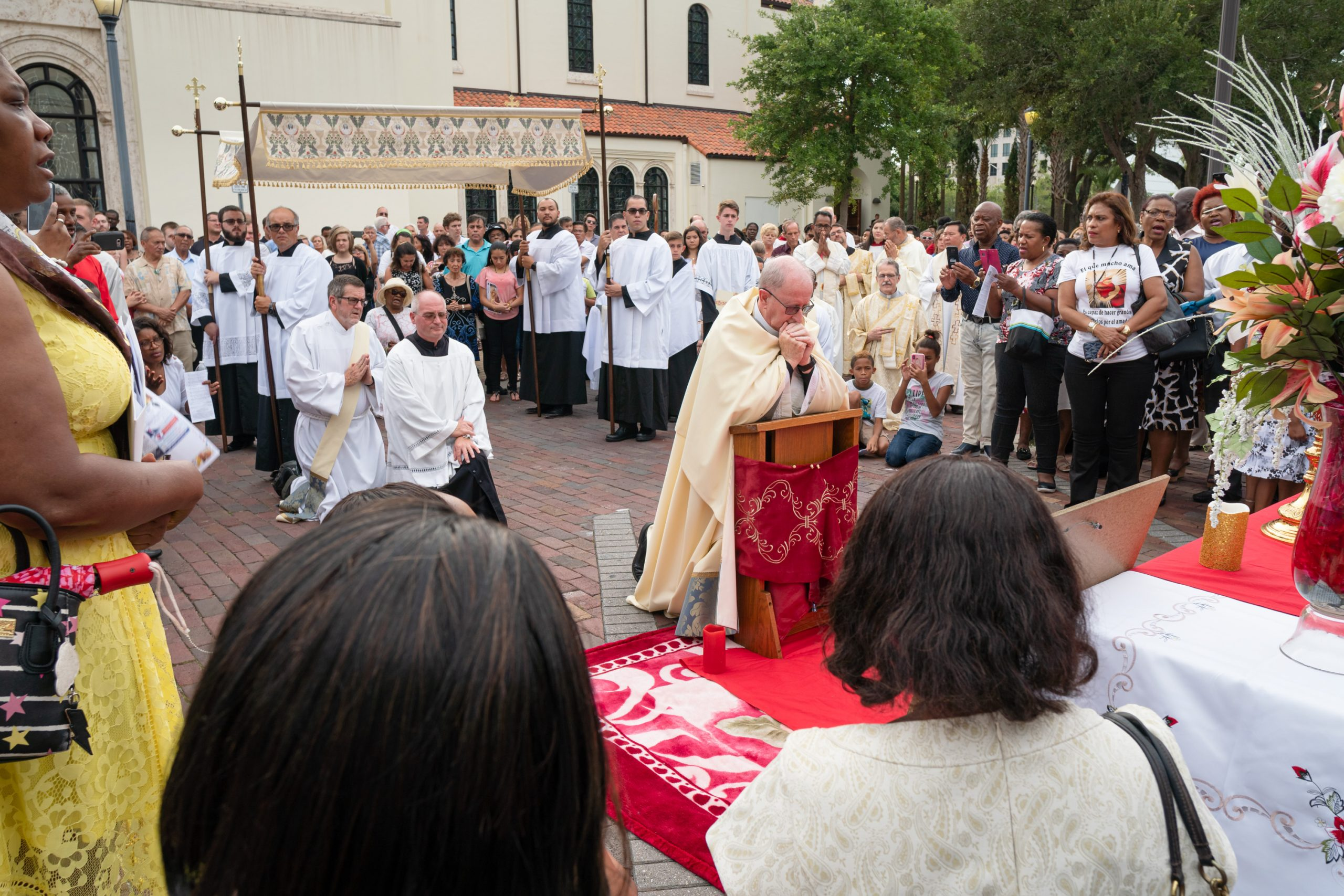 Mystery of the Eucharist embraces universal Church in diocese